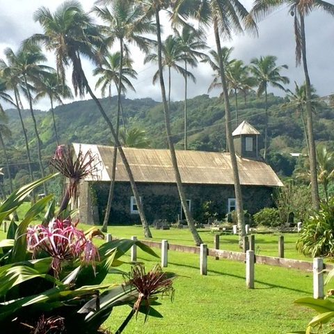 Keanae church